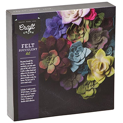 (Craft Crush Felt Succulents Kit)