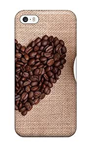 Cute Appearance Cover/tpu VRnTvbK9096LrbzS I Love Coffee Case For Iphone 5/5s
