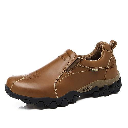 HILOTU Hombres Zapatos Oxford de Moda Casual Cómodo Low Top Zapatos del Barco Mocasines Slip-ons Zapatillas: Amazon.es: Zapatos y complementos