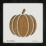 Pumpkin Autumn Fall Food Halloween Style 17127 DIY Plastic Stencil Acrylic Mylar Reusable