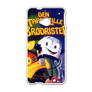 Brave Little Toaster HTC One M7 Cell Phone Case White AMS0704873