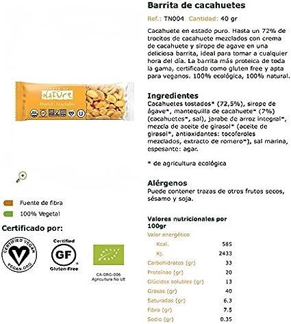 Taste Of Nature, Barrita de cereal (Cacahuete, Sirope de ...