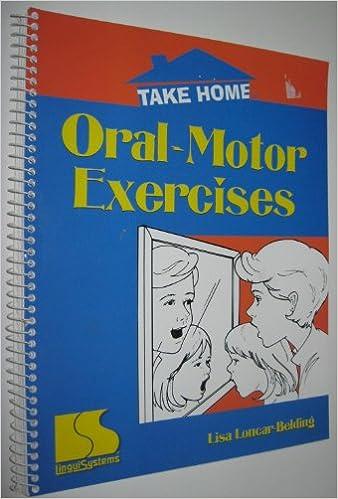 Counting Number worksheets free syllable worksheets : Take home: Oral-motor exercises: Lisa Loncar-Belding ...