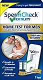 SpermCheck Fertility Home Sperm Test Kit | Indicates Normal or Low Sperm Count | Convenient and Private | Results in 10 Minutes | Easy to Read | Accurate as a Lab Test| FSA/HSA Eligible