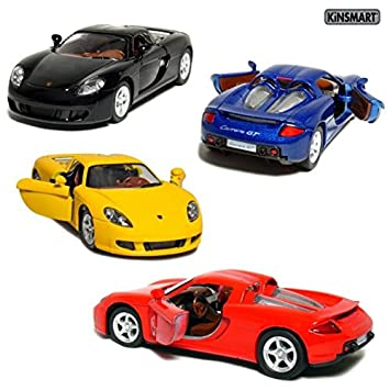 Kinsmart 136 Scale Porsche Carrera Gt Blue