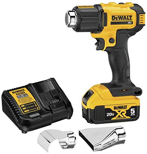 DEWALT 20V MAX Cordless Heat Gun (DCE530P1)