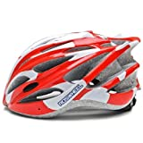ROSWHEEL 91587 EPS Mtb/Road Bicycle Helmet With 30 vents Color Red