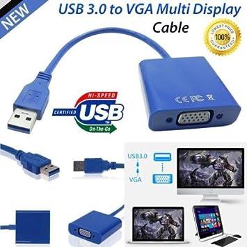 USB 3.0 A VGA adaptador, omorc USB a VGA tarjeta gráfica de ...