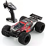 Metakoo 1/12 Scale Electric RC Car High Speed 2.4 GHz 4WD 40km/h Remote Control Off-Road Vehicle Hobby Truck,Red