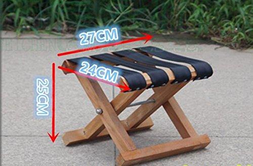 ZLL/ Sólido madera Mazar al aire libre taburete/portable/Banco/taburete plegable pequeño Banco de zapato/tren/taburete de pesca , 4: Amazon.es: Hogar