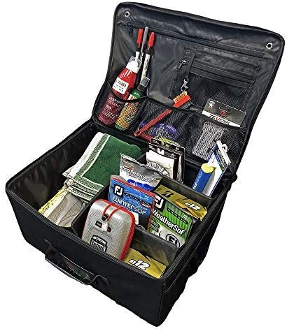 Topline Golf Trunk Organizer Sports Accessories and Sporting Goods Caddy | The Perfect Storage Locker for Truck, Car, SUV