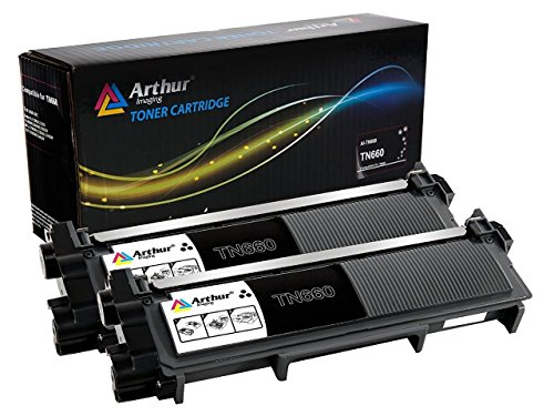 - Arthur Imaging Compatible Replacement Combo Set for Brother TN630 TN660 (2 High Yield Black Toner Cartridge, 2-Pack)