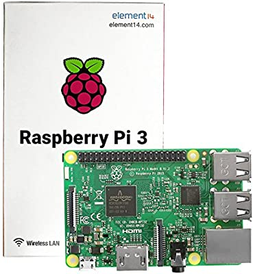 uniquegoods Raspberry Pi 3 Modelo B CPU 1.2GHz RAM 1GB ...