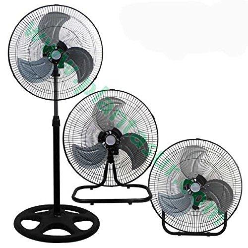 Ventilador / Circulador de aire industrial 3en1 - 45cm 45cm 45cm / 55W (Typhoon) 619472