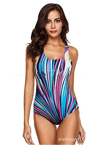 Tmrow 1pc Women's One Piece Swimwear Resistant Swimsuits Bathing Suit Swimsuit Swimwear,3XL by Tmrow