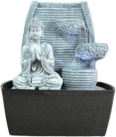 Interieur fontein Feng Shui wijsheid LEDverlichting 24 cm