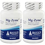 Biotics Research Mg-Zyme -- 100 Capsules (100 (pack of 2))