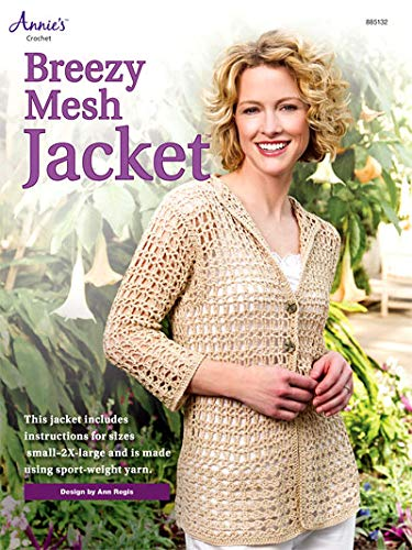 Breezy Mesh Jacket, (Crochet) Annie's Attic, 885132