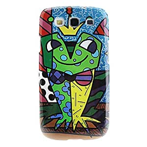 Cute Frog Pattern Hard Case for Samsung Galaxy S3 I9300