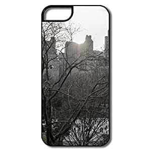 Cartoon Central Park Ice Skating Case For Iphone 6 Plus 5.5 Inch Cover For Him