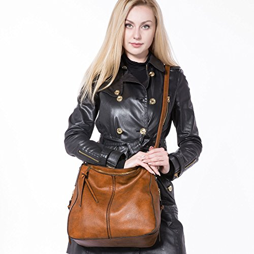 Shoulder Bags for Women Large Ladies Crossbody Bag with Tassel by Realer (Image #3)