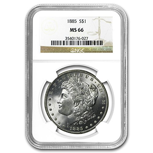 1885 Morgan Dollar MS-66 NGC $1 MS-66 NGC