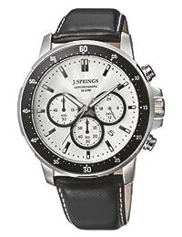 J. Springs - Wristwatch, cronografo al quarzo, Leather