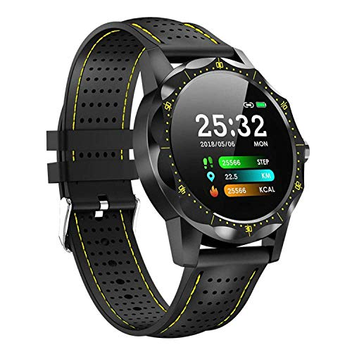 Best Military Class Smartwatch 2019 The Adventure Enhancement and The Ultimate Smartwatch for Every Adventurer (Yellow) (Best Smartwatch Under 100)