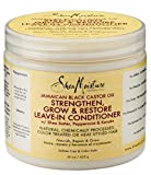 SheaMoisture Jamaican Black Castor Oil Reparative Leave-In Conditioner - 16 oz offers