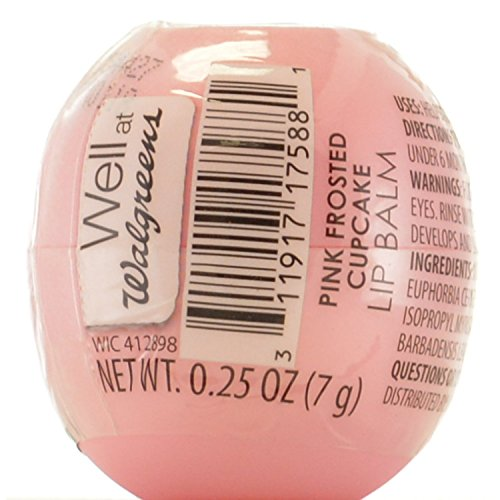Revo Lip Balm Pink Frosted Cupcake Walgreens Chap Ice Sphere