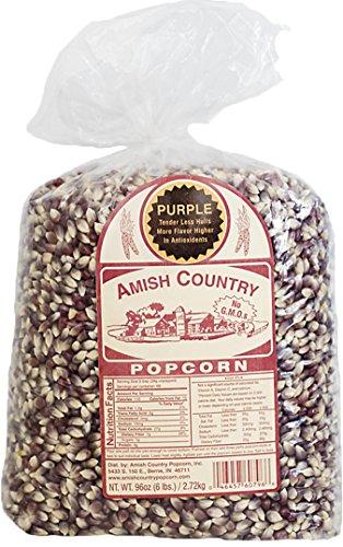 Amish Country Popcorn - 6 Lb Purple Popcorn