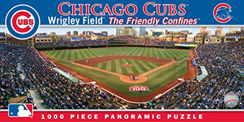 (MasterPieces MLB Chicago Cubs Stadium Panoramic Jigsaw Puzzle, 1000-Piece)