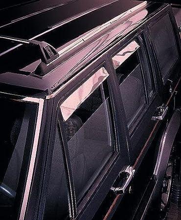 4 Piece Auto Ventshade 894061 Smoke Low-Profile Ventvisor Window Deflector