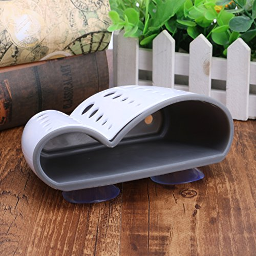 Tebatu Sink Caddy Double Layer Sponge Holders For Bathroom Kitchen Organization Baskets by Tebatu (Image #4)