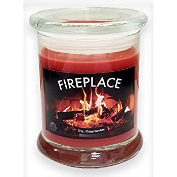 Buy Fireplace Fireside Natural Scented Soy Wax 12oz Candle ~ Aromatherapy Soy Candles Burn Longer ~ Non-Toxic ~ 100% Yinzer Made in USA ~ Gift For Special Occasions ~ S&M Web Widgets: Jar Candles - Amazon.com ? FREE DELIVERY possible on eligible purchases