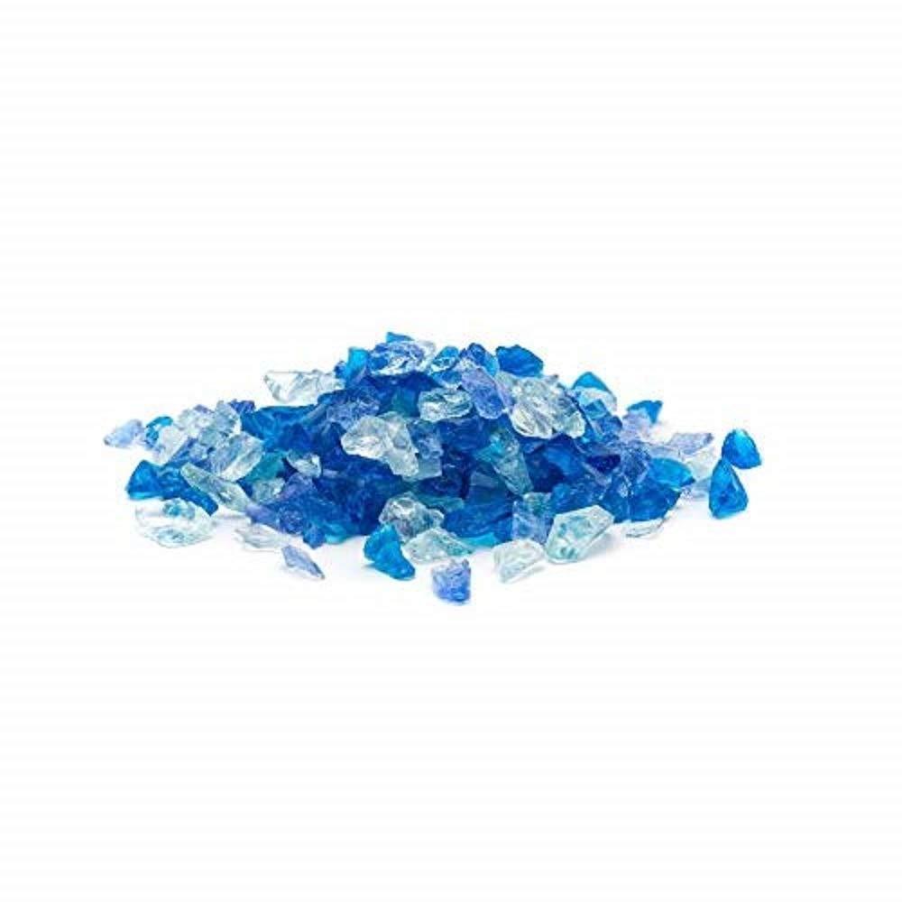 Dragon Glass 25 lb. Bahama Blend Landscape Glass 1/4'' by Dragon Glass
