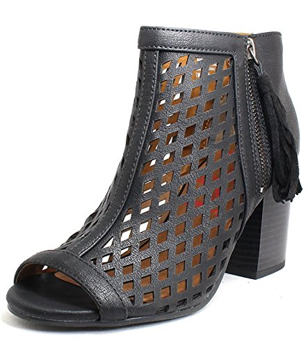 Jellypop Women's Madison Black Distress Synthetic Casual ...