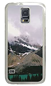 Samsung Galaxy S5 landscapes nature snow lake 21 PC Custom Samsung Galaxy S5 Case Cover Transparent