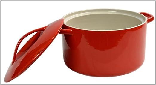 Swan oven-to-table cacerola rojo: Amazon.es: Hogar