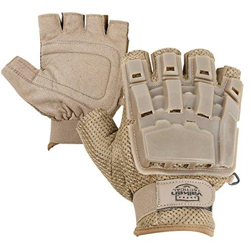 Valken Half Finger Plastic Back Gloves