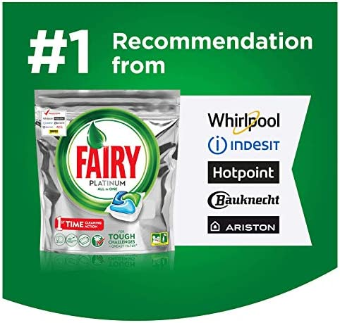 Fairy Platinum - Cápsulas de lavavajillas, pack 70: Amazon.es ...