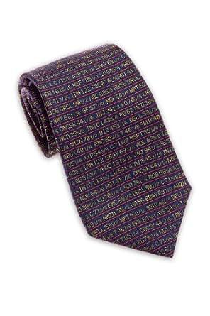 Stock Ticker, Wall Street - Men's Silk Necktie