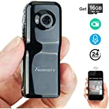 Toughsty 16GB Mini Wifi Network Camera Small DV Camcorder Video Recorder Support iPhone or Android APP Remote View and Control