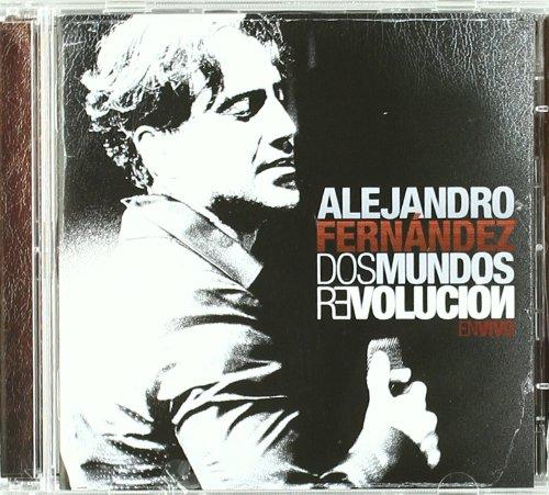 Fernandez Alejandro Dos Mundos Revolucion En Vivo Cd Dvd Combo Music