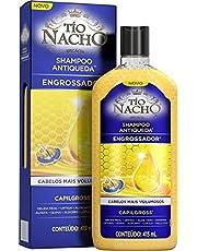 Shampoo Antiqueda Engrossador 415 Ml, Tio Nacho, Embalagem pode variar