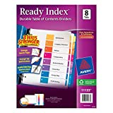 AVE11133 - Avery Ready Index Contemporary Table of Contents Divider