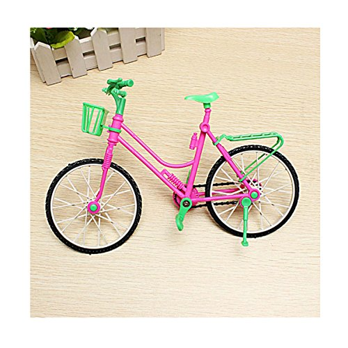 Kona Hybrid Bike (Miniature Detachable Bicycle Toy Fits Barbie Rotatable Wheels DIY Dollhouse Accessories ZevenMart)