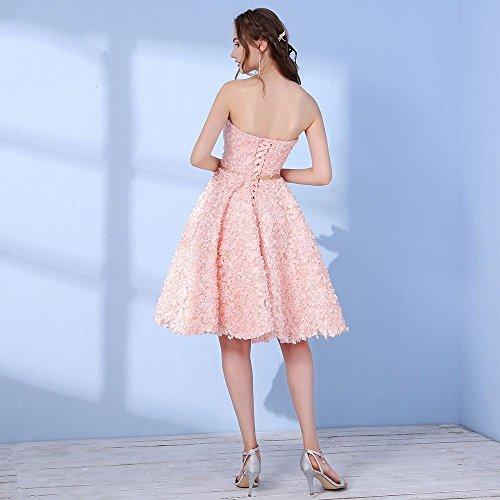 De Mariée Partie 2 Robes Ligne De Banquet 16 Sweetheart Sun Goddess Champange Soirée Soirée Robe Courte Robe Sleeveless A twUAW5BqF