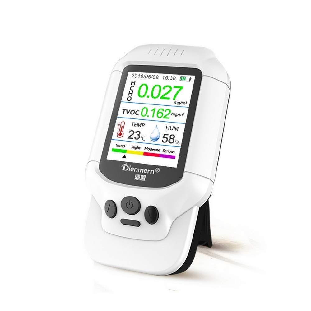 Multifunctional Gas Detector HCHO TVOC Sensor Meter LCD Display Air Quality Testing Equipment