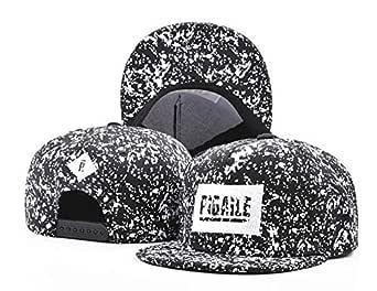 Black Baseball & Snapback Hat For Unisex